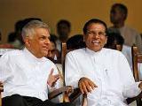 maithri & ranil