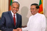 president and sing forgn minister met