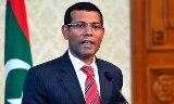 maldive former president