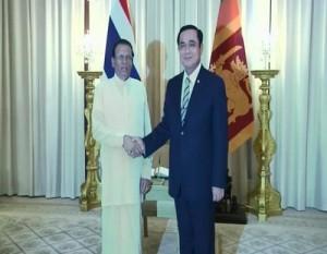 maithri thailand prime minister